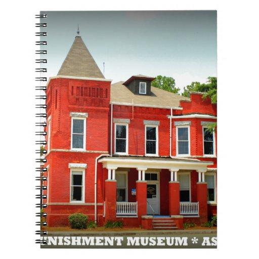 Museo del crimen y del castigo - Ashburn, Georgia Libreta Espiral
