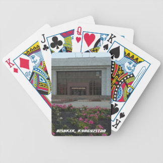 Museo del estado de Bishkek Frunze Baraja Cartas De Poker