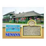 Museo del ferrocarril del estado de Alaska, Nenana Tarjeta Postal