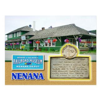 Museo del ferrocarril del estado de Alaska, Postal
