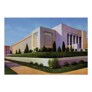Museo del monumento de Omaha Nebraska Joslyn Posters