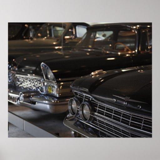 Museo del motor de Letonia, Riga, Riga, coches del Poster