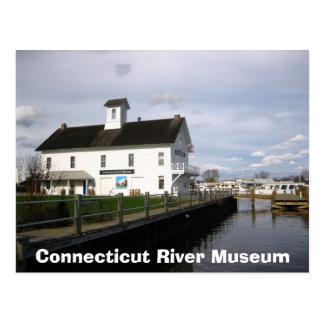 Museo del río Connecticut Postal