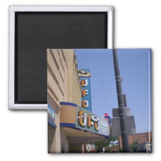 Museo del UFO de Roswell Imán Cuadrado
