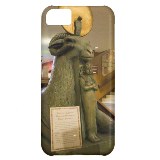 Museo egipcio de San Jose, estatua del espolón Funda Para iPhone 5C