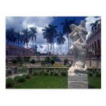 Museo estatuario, de Juan y de Mabel de mármol Rin Tarjeta Postal