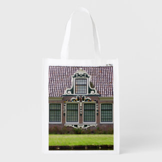 Museo Holanda del molino de viento de Zaan Bolsa Para La Compra