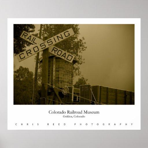 Museo II del ferrocarril de Colorado Póster