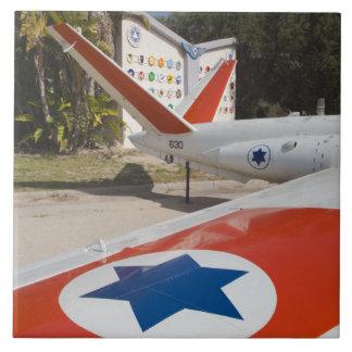 Museo israelí de la fuerza aérea azulejo cuadrado grande