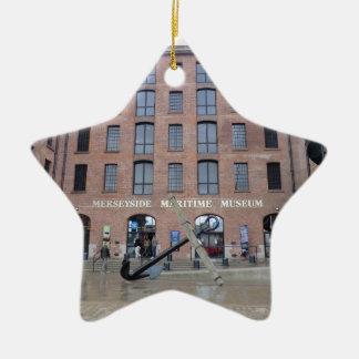 Museo marítimo de Merseyside Ornamento Para Arbol De Navidad