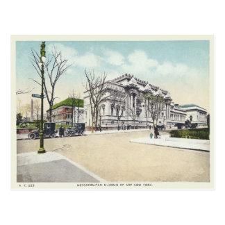 Museo metropolitano del vintage New York City NY Postales