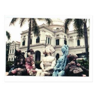 Museo Nacional de Singapur Tarjeta Postal