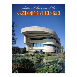 Museo Nacional del indio americano Tarjeta Postal