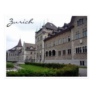 Museo Nacional suizo Tarjeta Postal