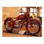 Museo St. Louis de la motocicleta MOTO del vintage Postal