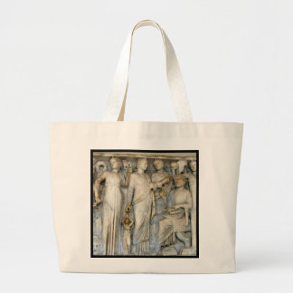 Muses and Poets Large Tote Bag