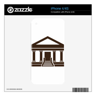 Museum Bank Government Building Icon Skins For The iPhone 4S
