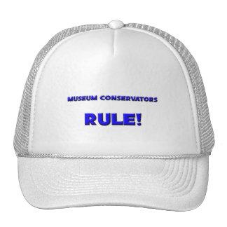 Museum Conservators Rule Hat