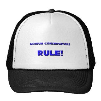 Museum Conservators Rule Mesh Hats