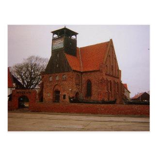 museum Hel Poland Postcard