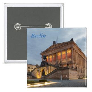 Museum Island in Berlin Pinback Button