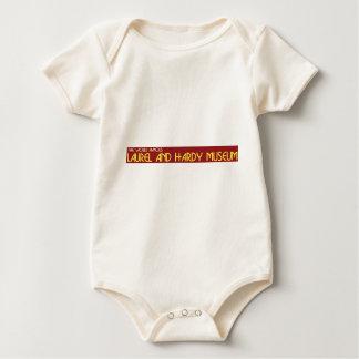 museum logo baby bodysuit