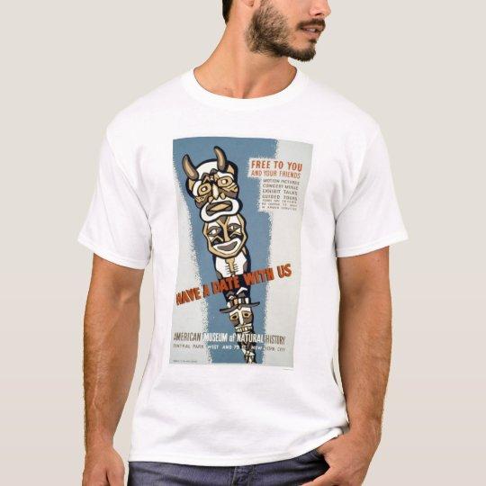 Museum Natural History 1942 WPA T-Shirt