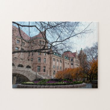USA Themed Museum of Art New York. Jigsaw Puzzle