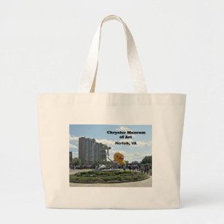 Museum of Art, Norfolk, Virginia Large Tote Bag