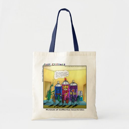 Museum of Ineffective Insecticides Budget Tote Bag