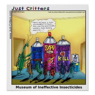 Museum of Ineffective Insecticides Poster
