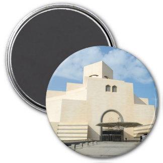 Museum of Islamic Arts, Qatar round magnet