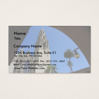 Museum Of Man In Balboa Park Business Card