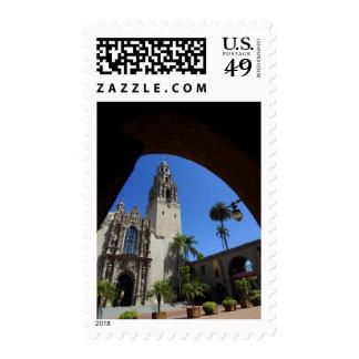 Museum Of Man In Balboa Park Stamp