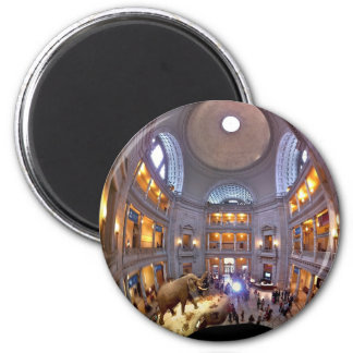 Museum of Natural History 2 Inch Round Magnet