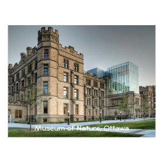 Museum of Nature, Ottawa. Postcard