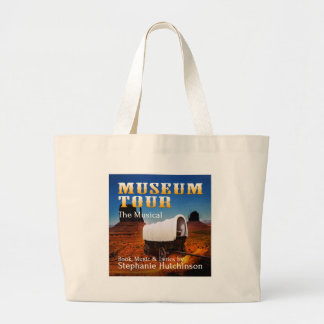Museum Tour the Musical Canvas Bags