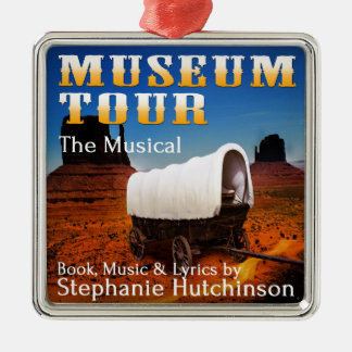 Museum Tour the Musical Metal Ornament