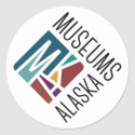 Museums Alaska Stickers