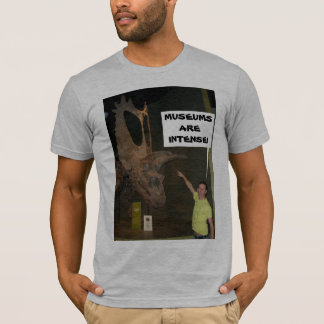 MUSEUMS ARE INTENSE! T-Shirt