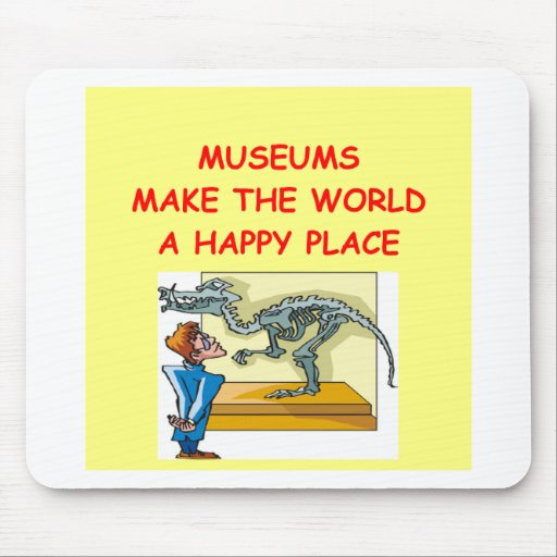 museums mouse pad