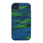 Musgo en el agua vibe iPhone 4 carcasa