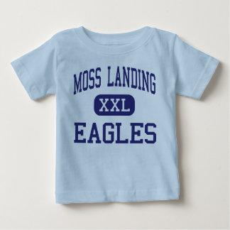 Musgo que aterriza el centro Watsonville de Eagles Camisetas