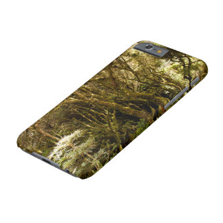 Musgo tropical peruano de la selva tropical funda para iPhone 6 barely there