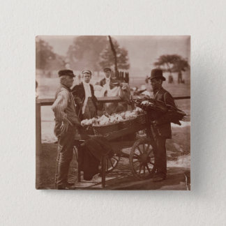 Mush Faker and Ginger Beer Maker, from 'Street Lif Pinback Button