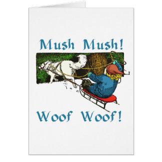 Mush Mush Woof Woof Card