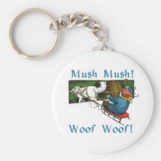 Mush Mush Woof Woof Key Chains