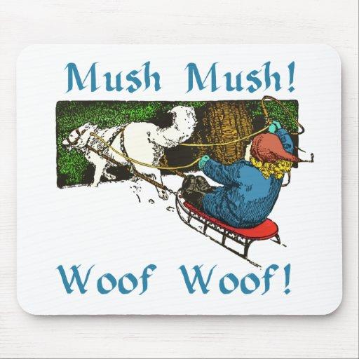 Mush Mush Woof Woof Mouse Pad