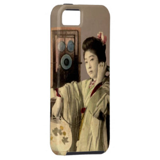 MUSHI MUSHI iPhone 5 FUNDA