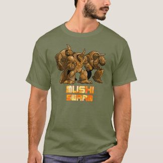 Mushi Swarm Brown T-Shirt